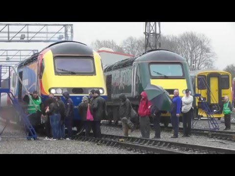 St Philips Marsh Depot Open Day - 40 Years of the HST125 - Bristol 2nd May 2016