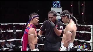 Kyal Lin Aung VS Saiyok Pumphanmuang,  Myanmar Lethwei vs Muay thai 2017