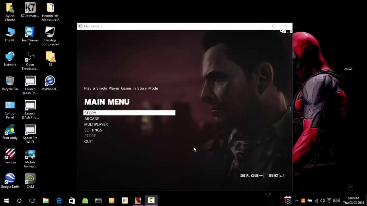 max payne 3 pc 1080p