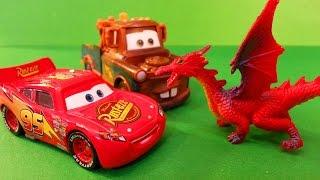 Тачки Маквин Мэтр против Дракона Мультики про машинки Cars McQueen