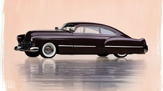 1948 Cadillac Series 62 Club Coupe Customized by Charlie Brewer and Bobby Griffey up for Auction