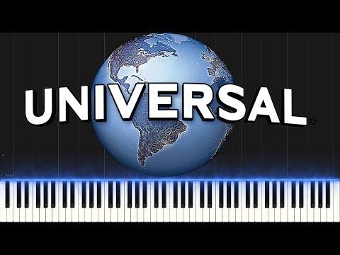 Universal Studios Theme (Piano Tutorial Synthesia)