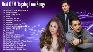 Martin Nievera,Gary Valenciano ,Morissette Amon Nonstop Songs  Best OPM Tagalog Love Songs Playlist