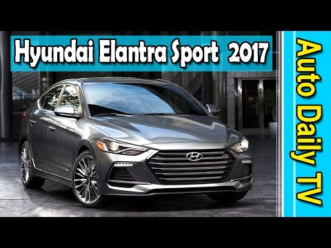 Hyundai Elantra Sport Turbocharges 2017 | Auto Daily
