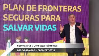 """Coronavirus: Presentación Del """"plan De Fronteras Seguras"""" Y De """"adultos Mayores"""""""