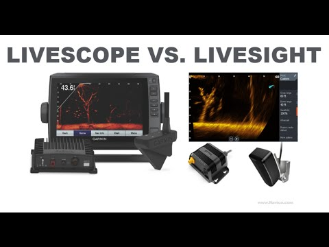 LiveScope VS LiveSight - Technology Behind On The Water Tests