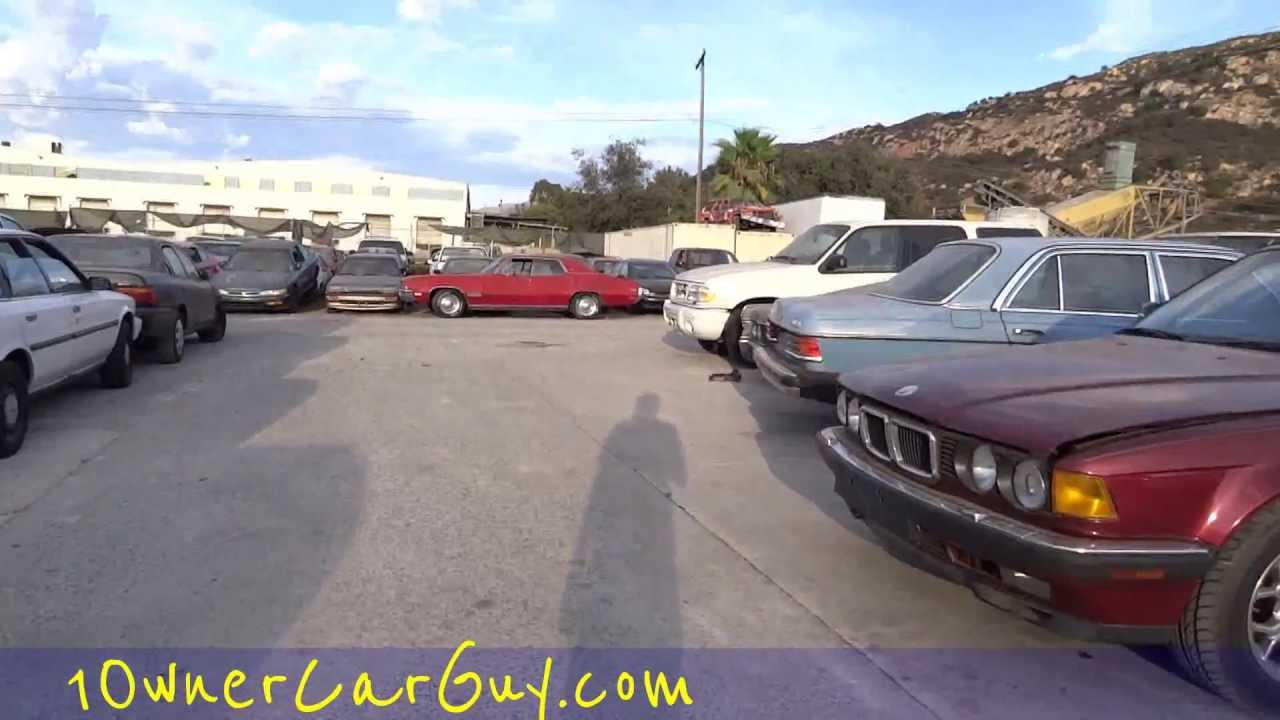 Used Car Lot Classic Yard Walkaround Parts Cars Rare Finds Buick ...