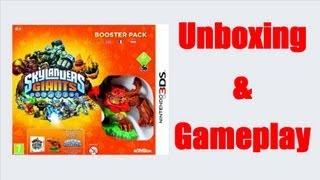 Skylanders Giants Nintendo 3DS Unboxing + Gameplay Video