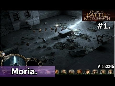 1.-lotr:-the-battle-for-middle-earth---mission-1:-moria-[pc-walkthrough]