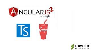 Angular 2 TypeScript Workflow with Gulp (build automation)