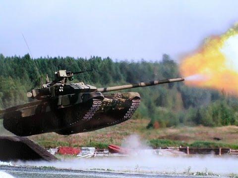 Uçan Tank T90MC Bir Metre Duvar Aşıyor(russian Main Battle Tank)