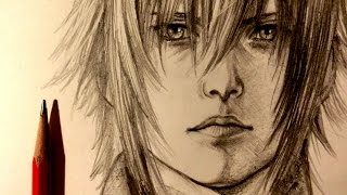 ASMR | Pencil Drawing 29 | Noctis (Request)