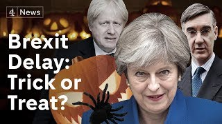 Reaction as May granted Brexit delay until Halloween