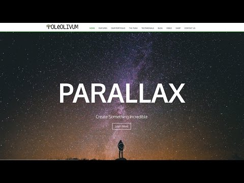 How To Make A Parallax WordPress Website 2016 -NEW!!