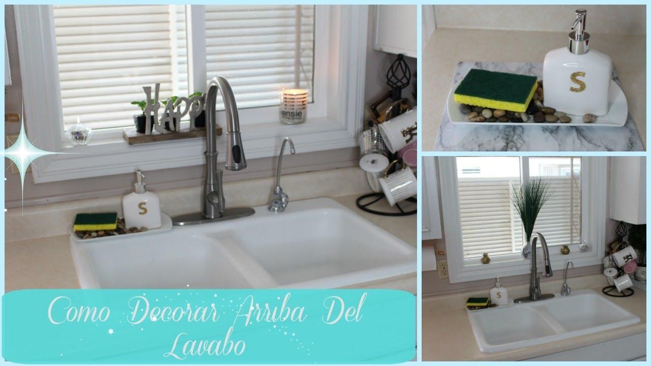 Como decorar arriba del lavabo ideas para docorar la - Como amueblar la cocina ...