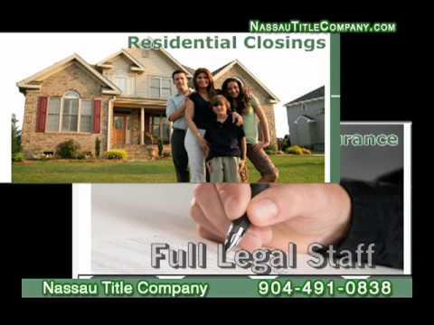 Nassau Title Company Commercial & Residential Closings NE Florida