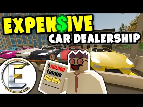 Expensive Car Dealership | Unturned Sale Man RP - FAST Super