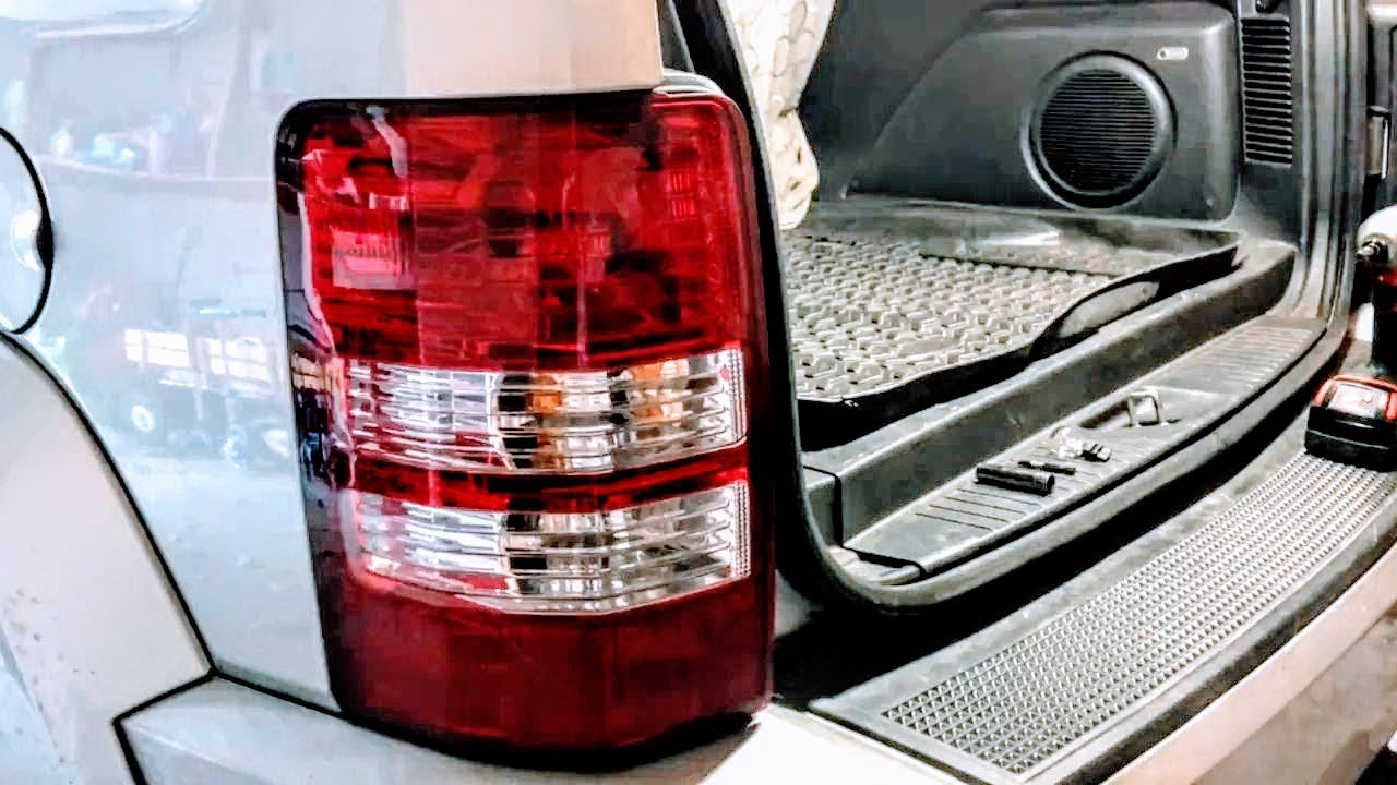 How to replace brake light on 20082012 Jeep Liberty  YouTube