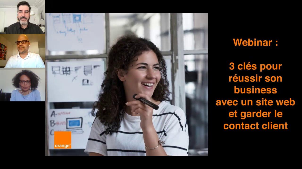 Webinar : 3 clés pour réussir son business avec un site web