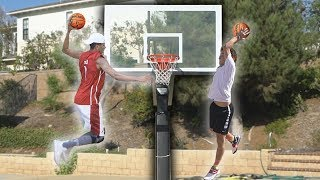 EPIC MINI HOOP BASKETBALL SKILLS CHALLENGE!