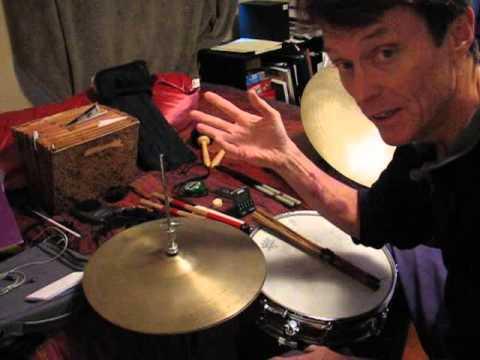 Quiet Drum Set Introduction By John Hans Melcher Youtube