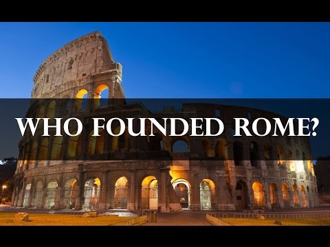 Who was Romulus and Remus? - The Founding of Rome