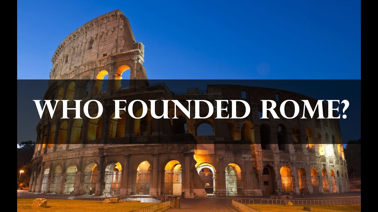 who was romulus and remus the founding of rome youtube