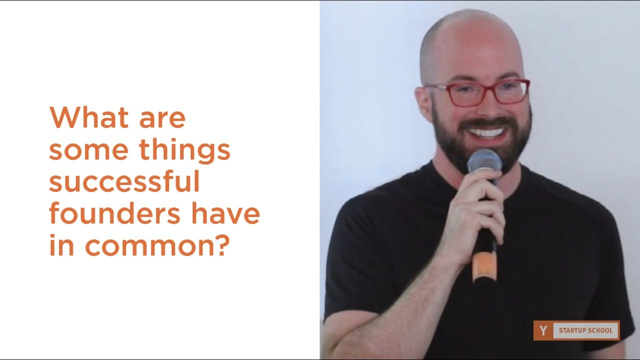 Paul Buchheit: What are some things successful founders have in common?