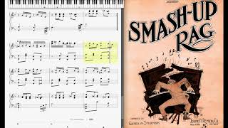 Smash Up Rag by Gwendolyn Stevenson (1914, Ragtime piano)