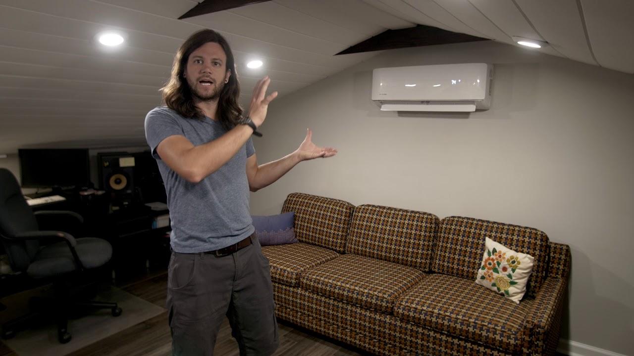 Mr Cool 12k Diy Mini Spit Ac Heat Pump Review