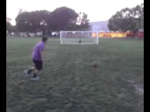 Mike's goal de campanita!!!