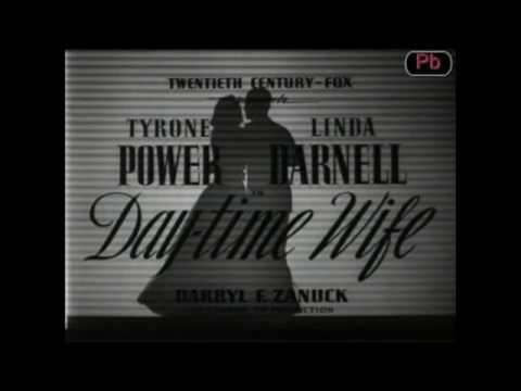 Day-Time Wife (1939) Fan-Made Trailer