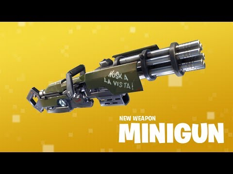 Patch Notes 2.4.0 - New Minigun and more!