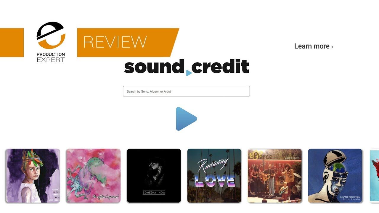 Sound Credit Software and Portal Gives Music Professionals