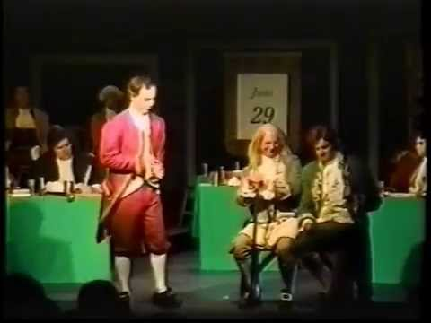 1776 Americas Award Winning Musical 1995, Full Production