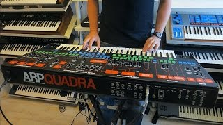 "ARP QUADRA Analog Synthesizer 1979  ""Four In One"""