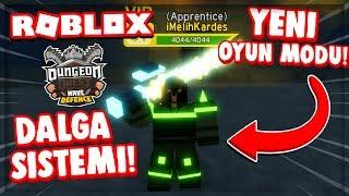 🎮 YENİ OYUN MODU !! & DALGA SİSTEMİ !! 💥 / Roblox Dungeon Quest / Roblox Türkçe
