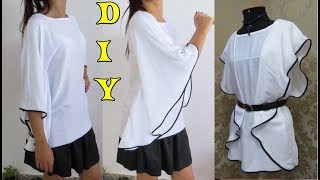 Blusa kaftan fácil - DIY