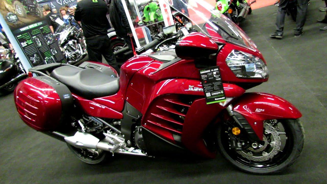 2014 Kawasaki Concours 14 ABS Walkaround - 2014 Montreal ...