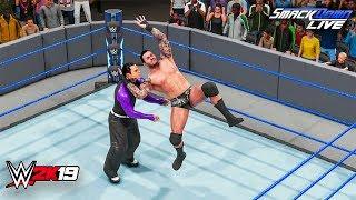 WWE 2K19 - Randy Orton vs Jeff Hardy SmackDown LIVE Dec 4, 2018