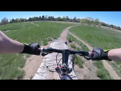 GOCO - Mountain Bike course at Village Greens Park with GoPro
