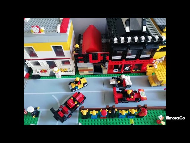 Lego (my little town, named Winston)