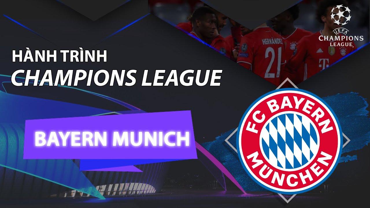 BAYERN MUNICH - HÀNH TRÌNH UEFA CHAMPIONS LEAGUE 2020/2021