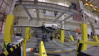 X-56 Moment of Inertia Tests