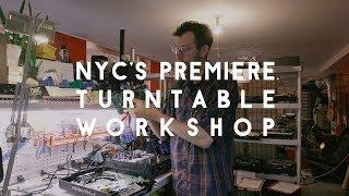 Inside DJ Fix: NYC's premiere turntable workshop