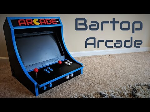 How To Build A Bartop Arcade Machine With A Raspberry Pi