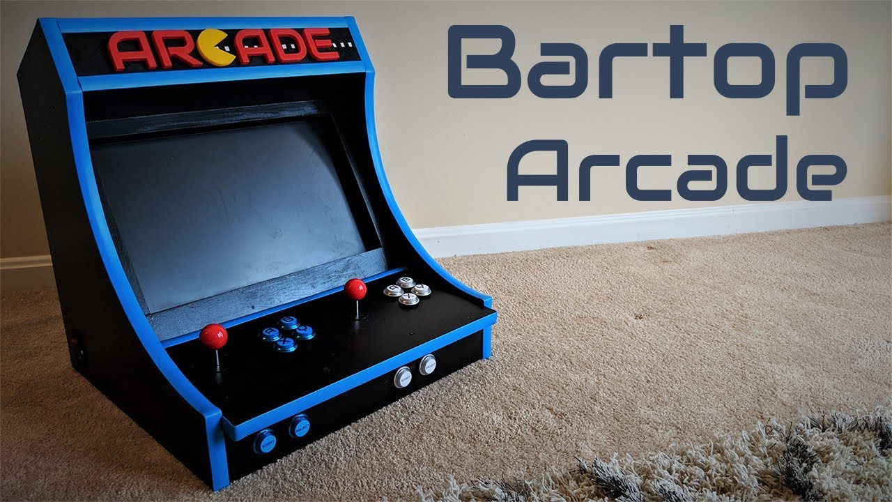 How To Build A Bartop Arcade Machine With A Raspberry Pi Youtube