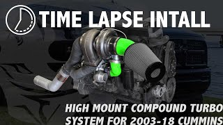 Time Lapse Install - Pusher High Mount Compound Turbo System, 2003-2016