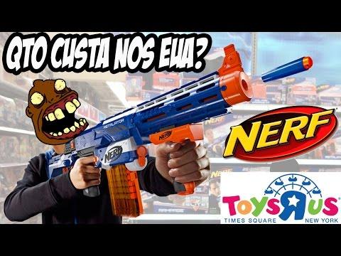 NERF na Toys R US da Times Square (2014)