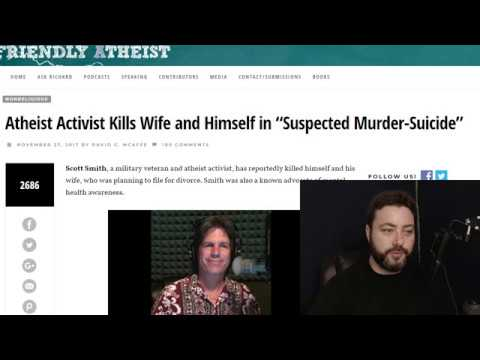 Atheist Activist's Murder Suicide